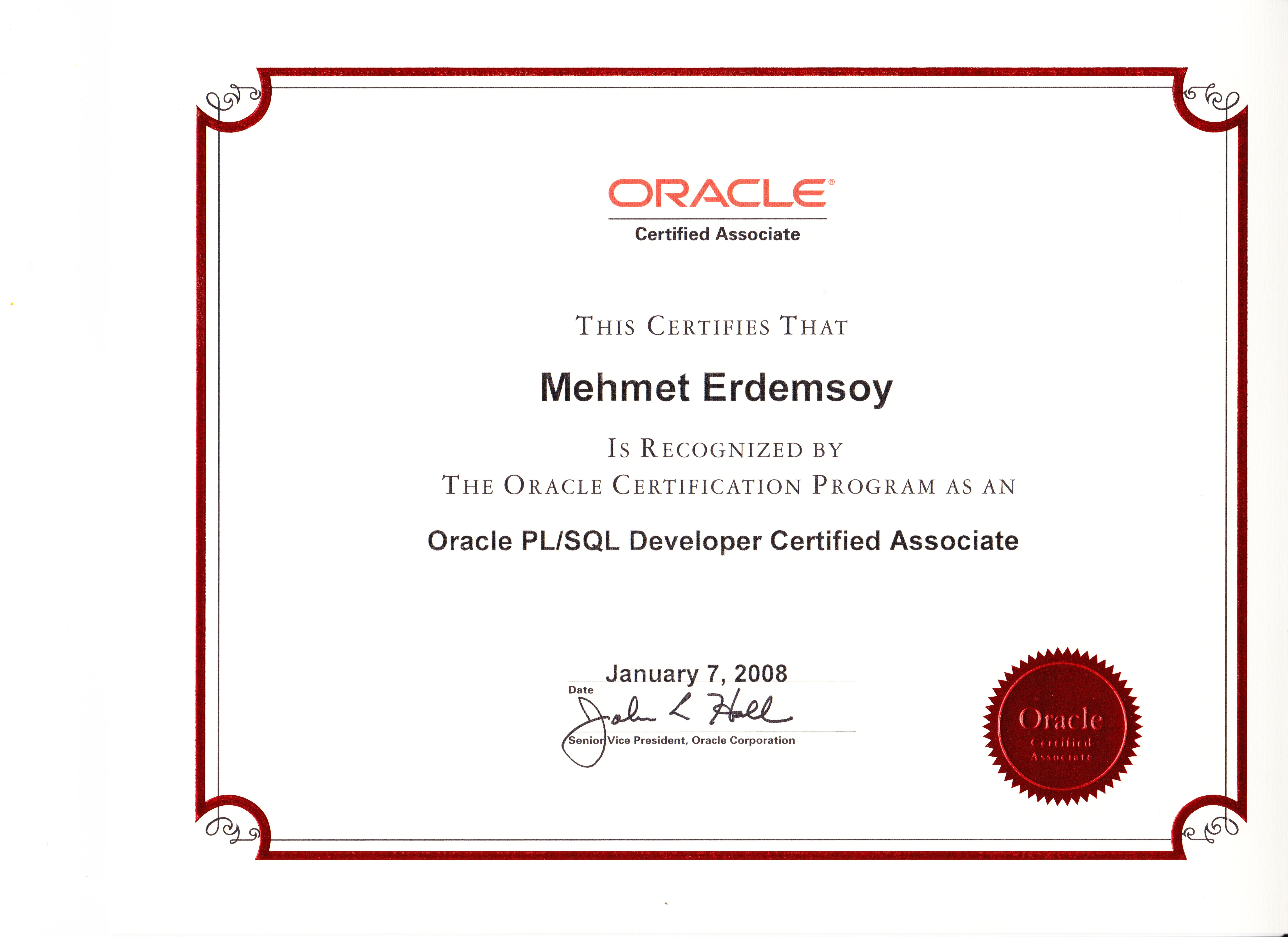 Ardevco mehmet erdemsoy oracle plsql developer certified associate 1betcityfo Image collections