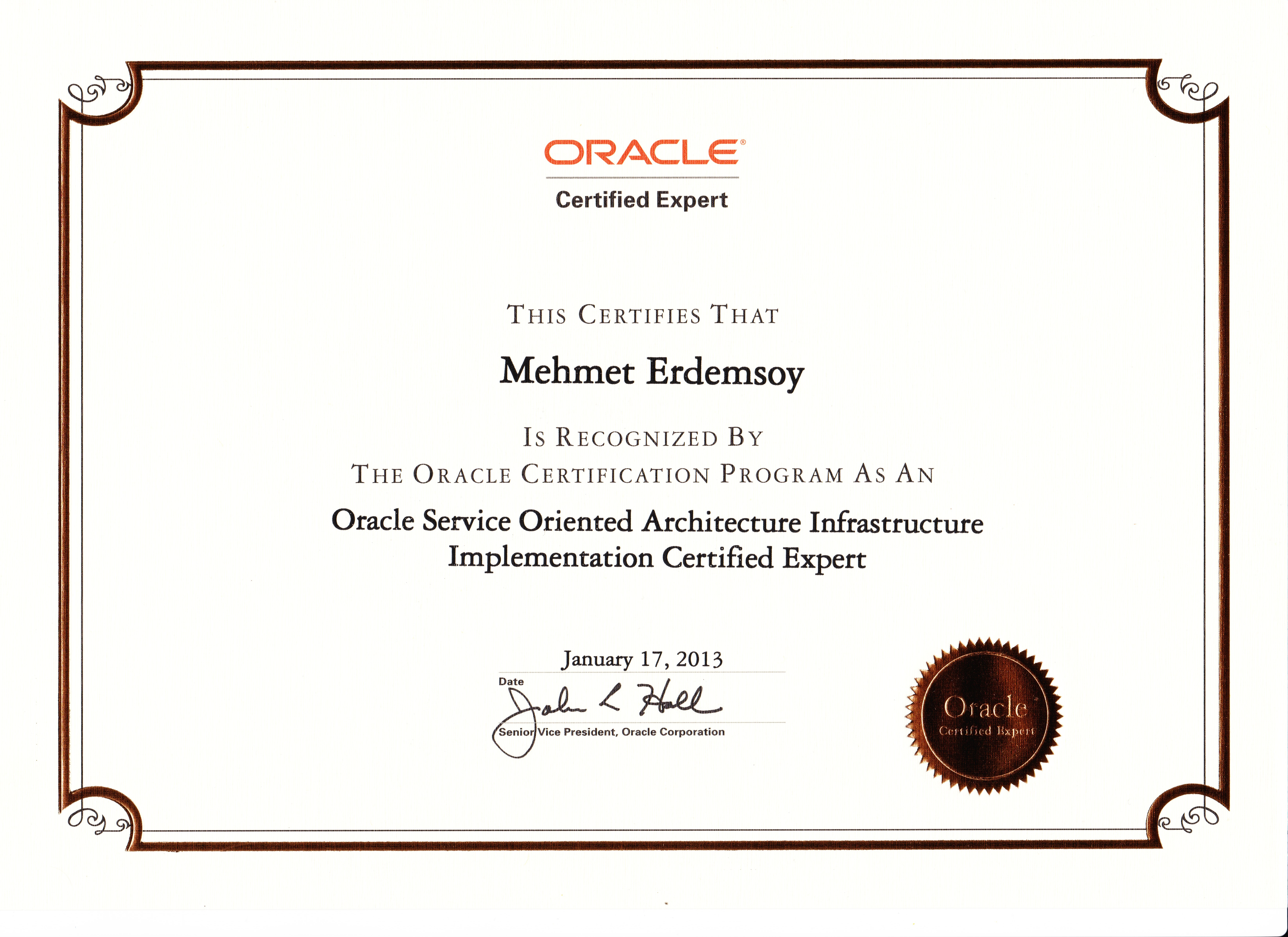 Ardevco mehmet erdemsoy oracle service oriented architecture infrastructure implementation certified expert 1betcityfo Image collections